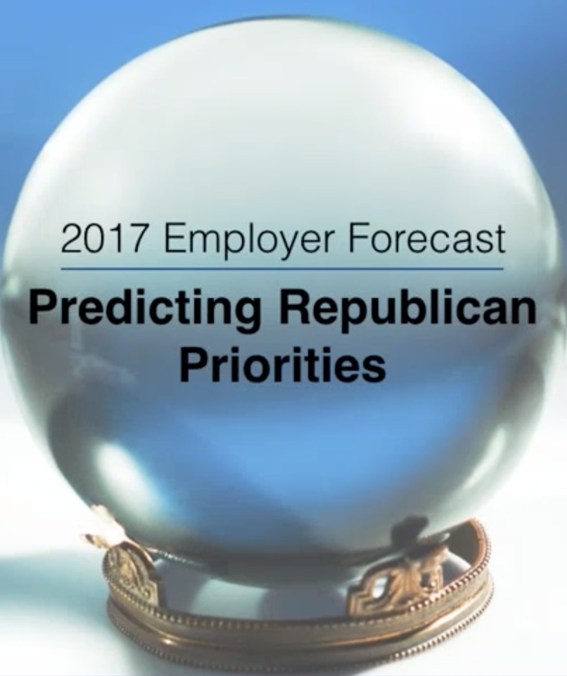 Employer forecast: 2017